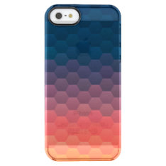 Warm Sunset Clear Iphone Se/5/5s Case at Zazzle