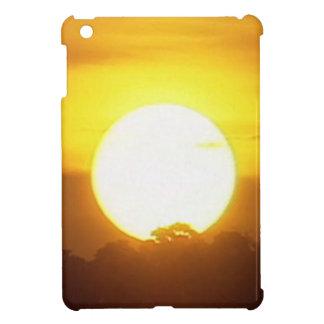 Warm Sunset Golden Horizons iPad Mini Cases