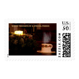 warm thoughts postage