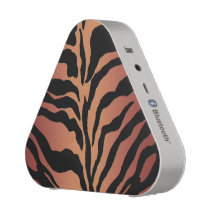 Warm Tiger Skin Animal Print Bluetooth Speaker
