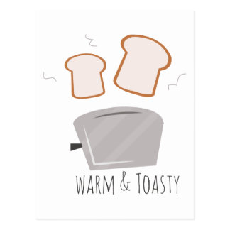 Warm & Toasty Postcard