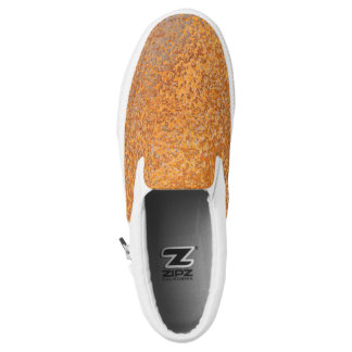 Warm Tone Abstract Slip On ZIPZ® Shoes