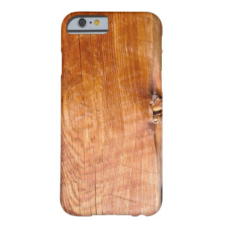 Warm-tone Barn Wood-Board Effect Rustic Phone Case Barely There iPhone 6 Case