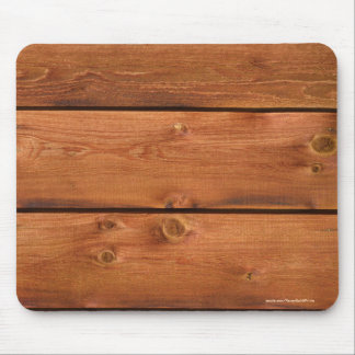 Warm-toned Barn Wood Board Photo Image Mouse Pad