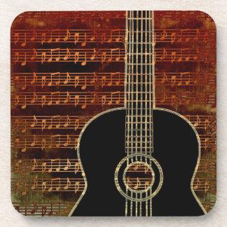 Warm Tones Guitar ID280 Coaster