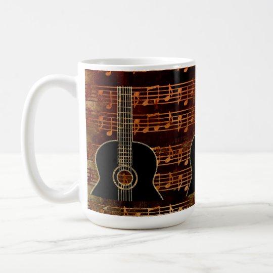 Warm Tones Guitar ID280 Coffee Mug
