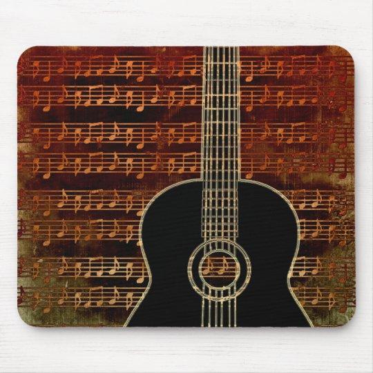 Warm Tones Guitar ID280 Mouse Pad