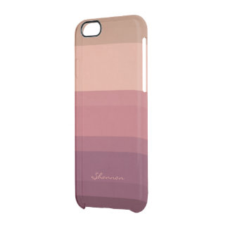 Warm Tones Subtle & Chic Striped iPhone 6 case Uncommon Clearly™ Deflector iPhone 6 Case