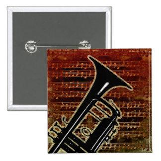 Warm Tones Trumpet ID280 Button