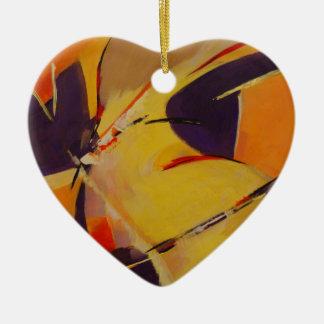 Warm Undertones Ceramic Ornament