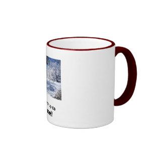 Warm up to Winter!! Ringer Mug