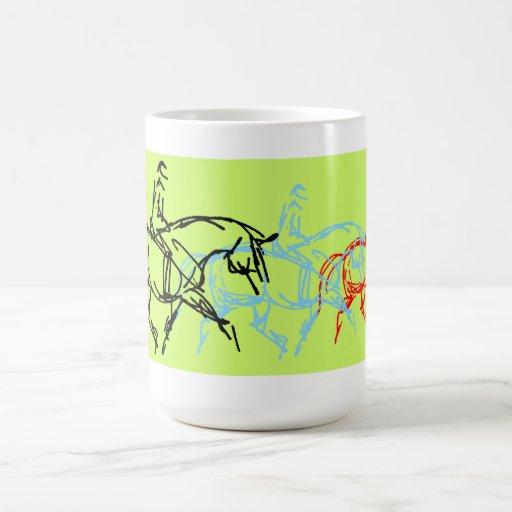 Warm Up Trot Mug- Lime Green
