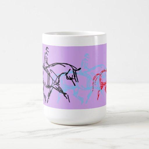 Warm up Trot Mug - Purple