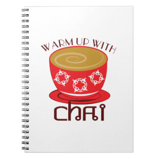Warm Up With Chai Spiral Notebooks