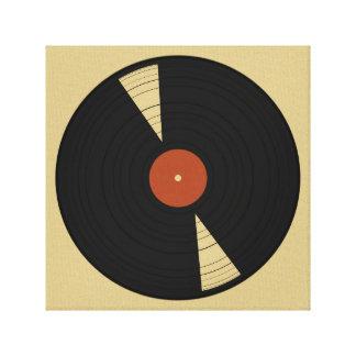 Warm Vinyl Canvas Print