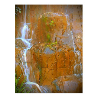 Warm Waterfall Postcard