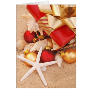 Warm Weather Christmastime Greeting Card