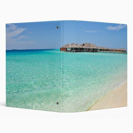 Warm Welcoming. Maldives Vinyl Binder