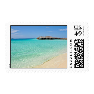 Warm Welcoming. Maldives Postage Stamps