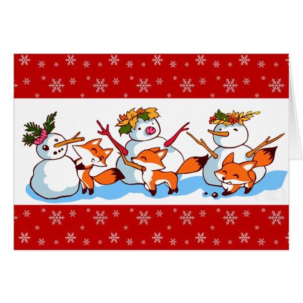 Cool Christmas Stuff Fox Christmas Cards