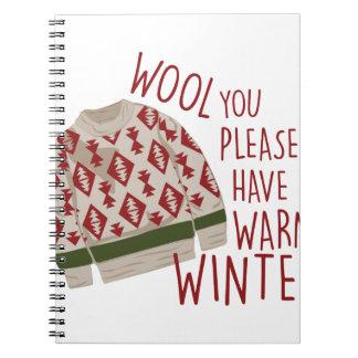 Warm Winter Notebook