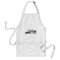 Warm Winter Wishes Adult Apron