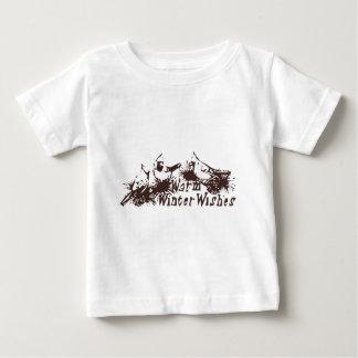 Warm Winter Wishes Baby T-Shirt