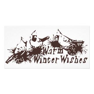 Warm Winter Wishes Card