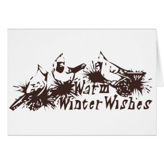 Warm Winter Wishes Card