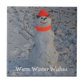 Warm Winter Wishes Tile