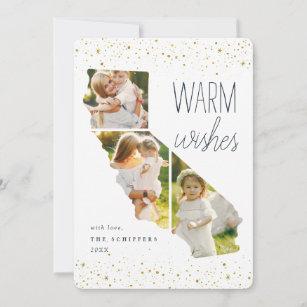 Warm Wishes Photo Cards Zazzle