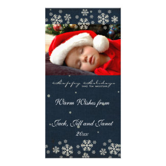 Warm Wishes Christams Photo Cards