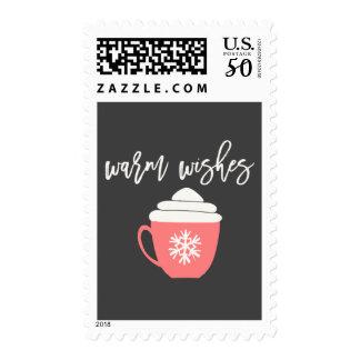 Warm Wishes Christmas Postage