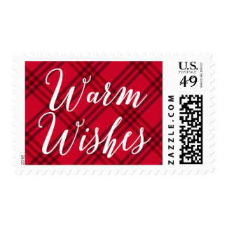 Warm Wishes | Holiday Postage Stamp