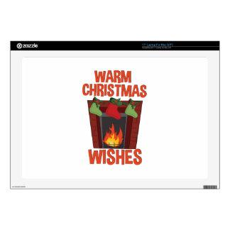 Warm Wishes Laptop Skin