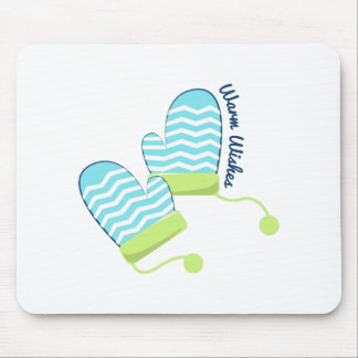 Warm Wishes Mouse Pad