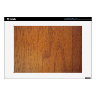 Warm Wood Grain Texture Decal For Laptop