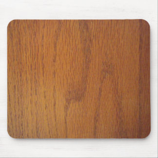 Warm Wood Grain Texture Mouse Pad