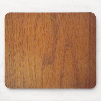 Warm Wood Grain Texture Mousepads