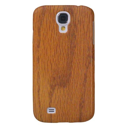Warm Wood Grain Texture Samsung Galaxy S4 Case