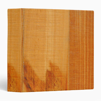 Warm Wooden Boards Binder