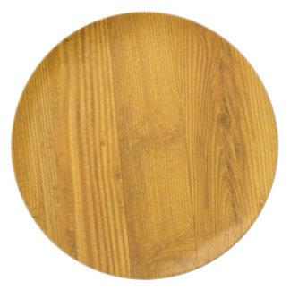 Warm Woodgrain Plate