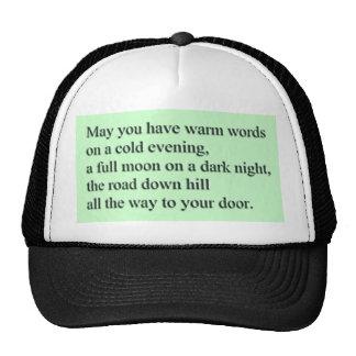 Warm Words Mesh Hats