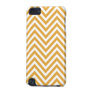 WARM YELLOW CHEVRON PATTERN iPod TOUCH 5G CASES