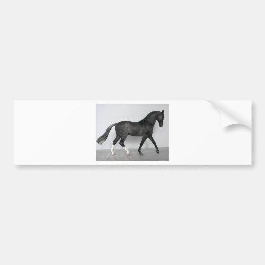 Warmblood Horse Model Bumper Sticker