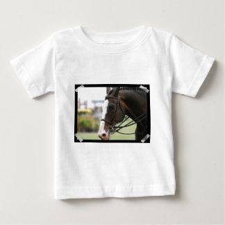 Warmblood Horse Photo  Baby T-Shirt