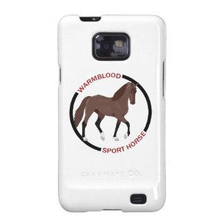 WARMBLOOD SPORT HORSE SAMSUNG GALAXY SII CASE