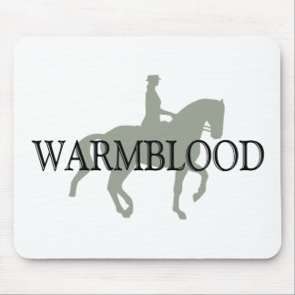 WARMBLOOD with Dressage Horse & Rider Mouse Pad