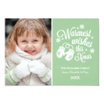 Warmest Wishes | Christmas Photo Card Invite