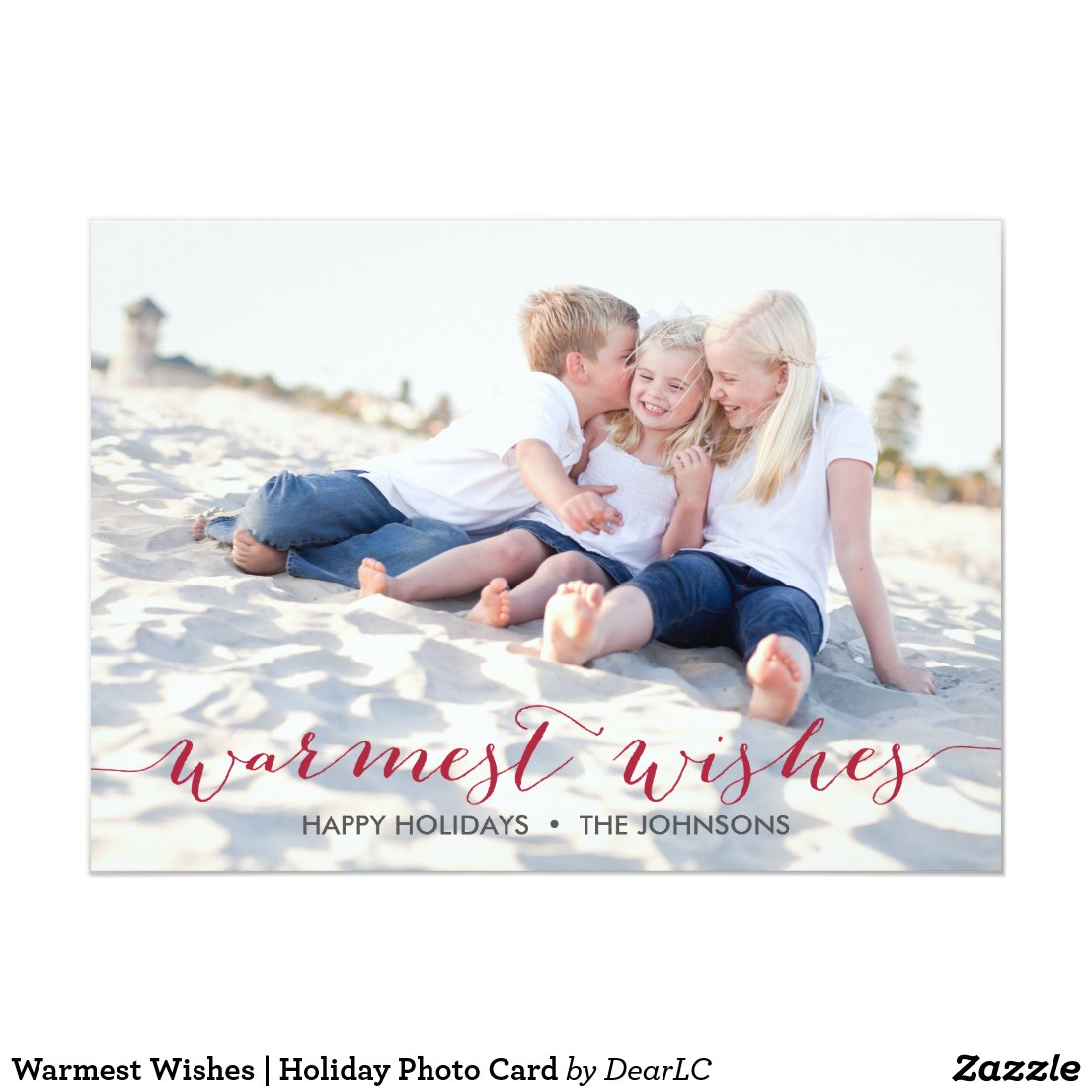 Warmest Wishes | Holiday Photo Card